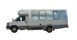 Kleine reisbus Royalty-vrije Stock Afbeelding