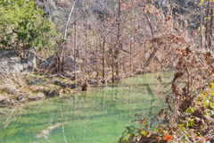 Kleine rivier in Hamilton Pool Royalty-vrije Stock Foto