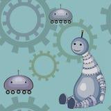 Kleine robots Royalty-vrije Stock Afbeeldingen