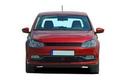 Kleine rode auto Royalty-vrije Stock Afbeelding