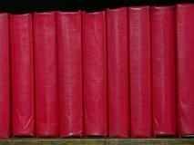 Kleine rode boeken Royalty-vrije Stock Fotografie
