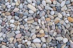 Kleine rote Steine Stockfoto