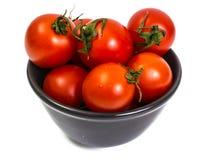 Kleine rote Tomaten Stockbild