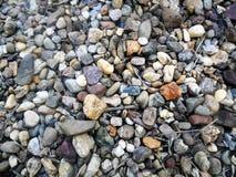 Kleine rotsen Stock Foto