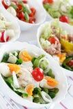 Kleine salades royalty-vrije stock afbeelding