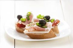 Kleine Sandwich Stock Afbeeldingen