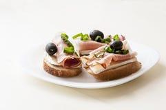 Kleine Sandwich Royalty-vrije Stock Foto's