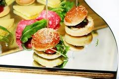 Kleine sandwiches Royalty-vrije Stock Foto