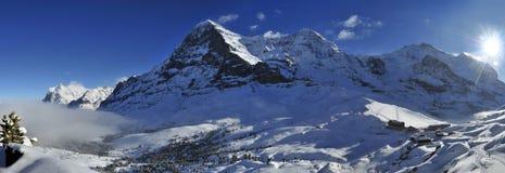 Kleine Scheidegg foto de stock royalty free