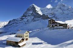 Kleine Scheidegg Imagenes de archivo