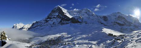 Kleine Scheidegg Royalty Free Stock Photo