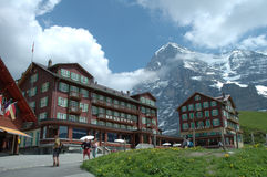 Kleine scheidegg Royalty Free Stock Photos