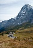 Kleine scheidegg station Royalty Free Stock Photo