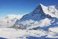 Kleine Scheidegg, Swiss Alps Royalty Free Stock Image