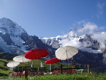 Kleine Scheidegg Switzerland Foto de Stock