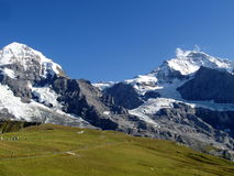 Kleine Scheidegg, Switzerland Foto de Stock Royalty Free