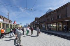 Kleine Scheidegg, Switzerland Royalty Free Stock Photos