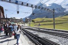 Kleine Scheidegg, Switzerland Royalty Free Stock Images