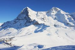 Kleine Scheidegg, Switzerland Stock Image