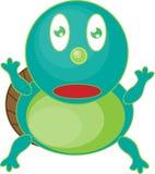 Kleine Schildkröte Lizenzfreie Abbildung