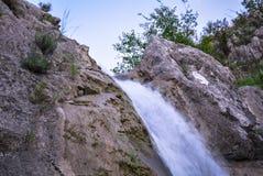 Kleine schone waterval Royalty-vrije Stock Fotografie