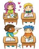 Kleine schoolkinderen, Stock Fotografie