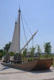 Kleine Segelschiff-Struktur Lizenzfreie Stockfotos