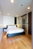 Kleine slaapkamer Stock Foto