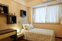 Kleine slaapkamer stock foto's