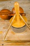 Kleine slaginstrumenten Stock Afbeelding