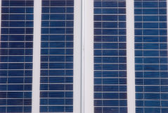 Kleine Sonnenenergie innen draußen Lizenzfreie Stockfotos