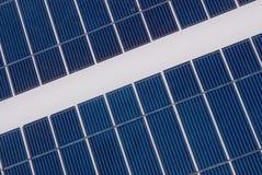 Kleine Sonnenenergie innen draußen Lizenzfreie Stockfotografie