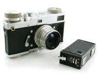 Kleine Spionagefotokamera und Filmkamera Lizenzfreie Stockfotos