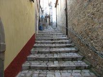 Kleine stad Italië Stock Foto's