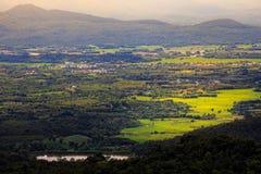 Kleine stad, Phayao, Thailand Royalty-vrije Stock Foto
