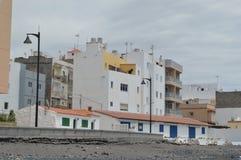 Kleine stad in Tenerife Stock Afbeelding