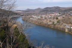 Kleine stad Tennessee Stock Foto