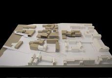 Kleine stadsregeneratie, 3D model Stock Afbeeldingen