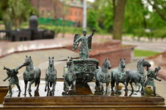 Kleine standbeelden Royalty-vrije Stock Foto