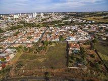 Kleine steden in Zuid-Amerika stock fotografie