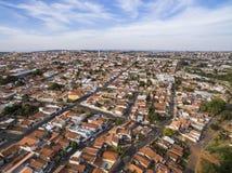 Kleine steden in Zuid-Amerika stock foto's