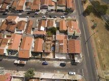 Kleine steden in Zuid-Amerika royalty-vrije stock foto