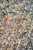 Kleine Steine auf dem Strand Stockbild