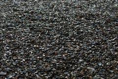 Kleine Steine dunkel Lizenzfreies Stockbild