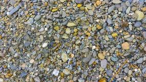 Kleine Steinmenge im Garten Lizenzfreie Stockbilder