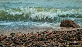Kleine stenen royalty-vrije stock fotografie