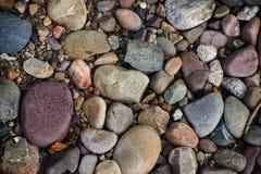 Kleine stenen ter plaatse Royalty-vrije Stock Foto's