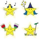 Kleine sterren royalty-vrije illustratie