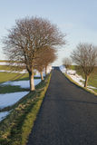 Kleine Straße Stockbild