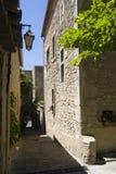 Kleine Straße in Bonnieux Lizenzfreie Stockfotografie